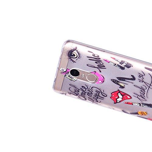 Funda Redmi Note 4X, CaseLover Suave Transparente TPU Silicona Carcasa para Xiaomi Redmi Note 4X / Redmi Note 4 Ultra Delgado Flexible Goma Gel Protectiva Caso Anti Rasguños Cubierta Anti Choque Caja  Tacones altos