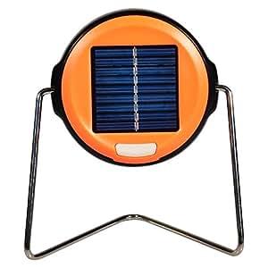 LED Solar batería tarea luz Solar LED batería luz, lámparas de mesa lámpara de emergencia exterior (naranja)