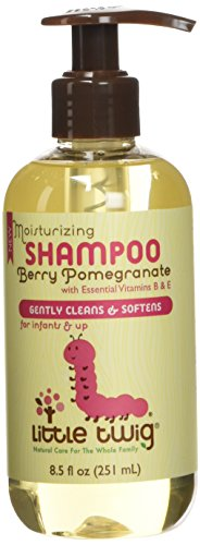 Little Twig All Natural Baby Shampoo for Sensitive Skin, Berry Pomegranate, 8.5 Fluid Oz