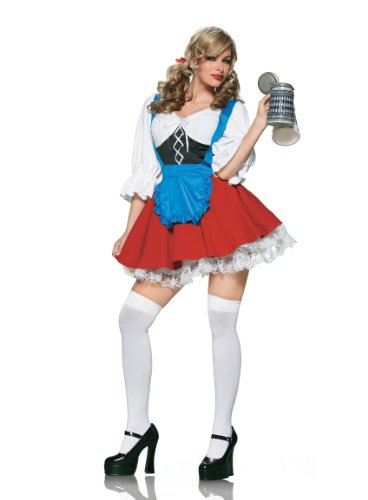 Halloween Costumes: Import Beer Girl costume - 83164(MULTICOLOR,SMALL) Import Beer Girl Costume