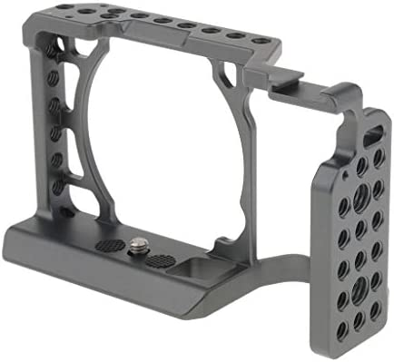 D DOLITY スタビライザー ビデオカメラケージ Sony A6000 A6300 A6500カメラに適合 アルミニウム合金