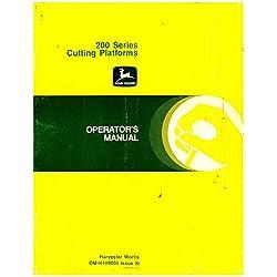 OM-H109005 John Deere 200 Series Cutting Platforms