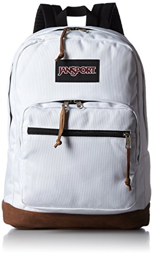 pretty nice 1d16d c2d81 JanSport Right Pack Laptop Backpack (White)  Amazon.in  Bags, Wallets    Luggage