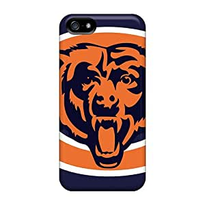 Iphone 5/5s OiG14629umHr Unique Design Stylish Chicago Bears Image High Quality Cell-phone Hard Covers -JasonPelletier hjbrhga1544
