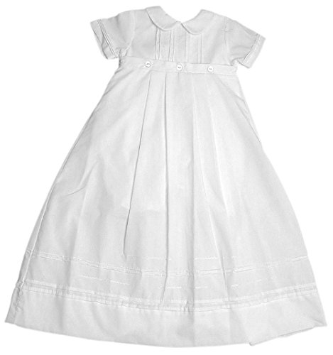 Baby Boy or Girl Poly Cotton Christening Convertible Family Gown