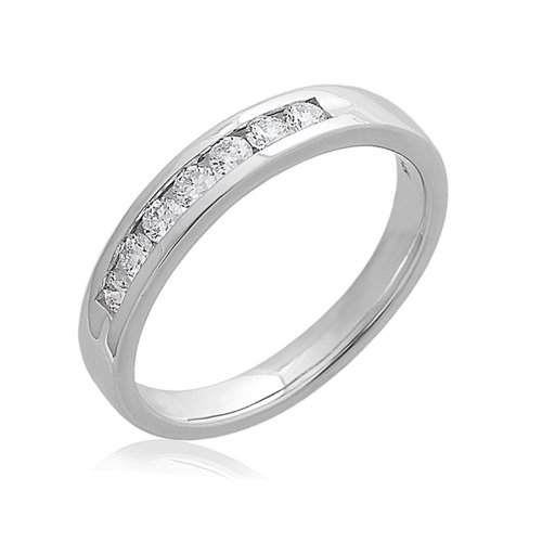 0.29 Ct Diamond Band - 8