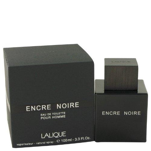 Lälique Encrë Nöire Cölogne For Men 3.4 oz Eau De Toilette Spray + a FREE Shower Gel - Noir Gel Eau De Toilette