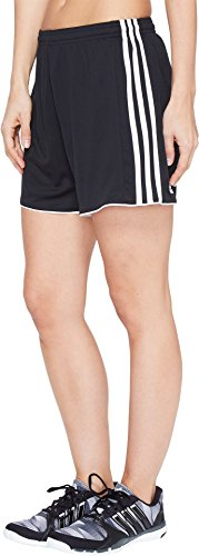 adidas Womens Soccer Tastigo 17 Shorts, Black/White, Medium