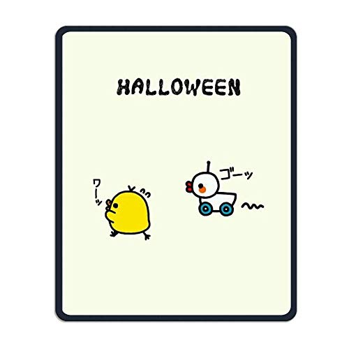 Etuwdie Mouse Pad Rectangle Rubber Non-Slip Mousepad Halloween Duck Chik Print Gaming Mouse -