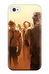 9774441K79596674 Protection Case For Iphone 4/4s / Case Cover For Iphone(zombie)
