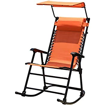 Amazon Com Sundale Outdoor Folding Rocking Lounge Patio