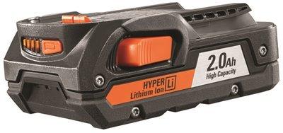 Ridgid Genuine OEM AC840086 18V 2AH Hyper Lithium-Ion Single Battery (Ridgid Battery 18v)