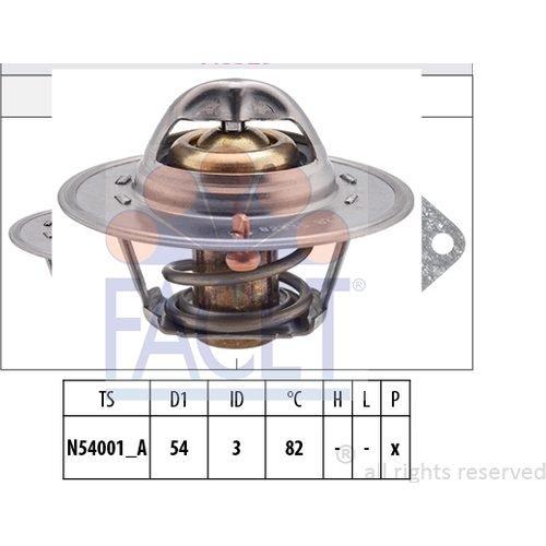 - Facet - Engine Coolant Thermostat - 7.8233S
