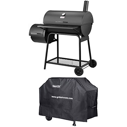 Sale!! Royal Gourmet Charcoal Grill Offset Smoker (Grill + Cover)