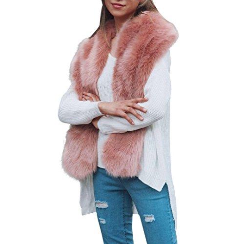Women Faux Fur Long Scarf Victorcn Women Winter Long Warm Scarf Fashion Ladies Long Scarves Wraps - Gucci Locs