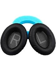 YOMYM Bose QC25 quiet and comfortable 25 earphone ear pad replacement pad, QC15, QC35, AE2, AE2I ear pad(Black)