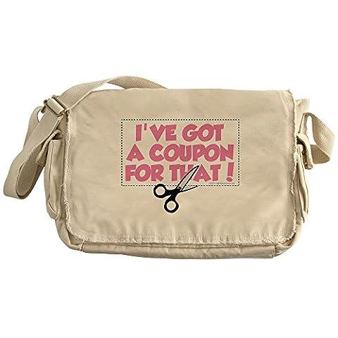 CafePress - I've Got A Coupon For That! - Unique Messenger Bag, Canvas Courier Bag - Dive Computer Discount