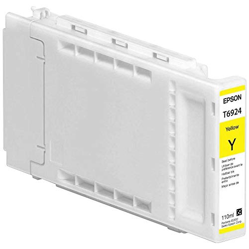 Epson Yellow Ultra Chrome XD Ink Cartridge, 110 ml (T692400)