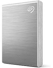 Seagate One Touch SSD, 2 TB, Extern SSD, Silver, USB 3.0, 4 månader Adobe Creative Cloud, 1 års Mylio, 3 års Rescue Services (STKG2000401)