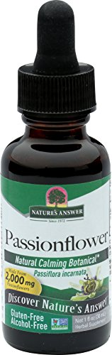 Nature's Answer Alcohol-Free Passionflower, 1-Fluid Ounce Eclectic Institute Passion Flower