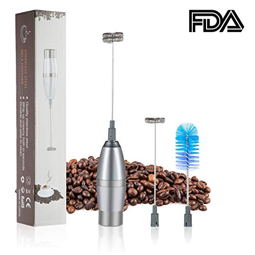 Milk Frother Electric Handheld Portable Powerful Milk Foamer