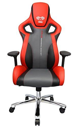 41fVKfce3zL - E-Blue Cobra Gaming Chair EEC303 High Grade PU Leather PC Racing Bucket Seat Office Ergonomic Computer eSports Desk Executive