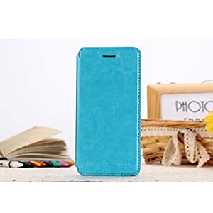 YULIN 4.7 Inch Refreshing PU Leather Full Body Case for iPhone 6(Assorted Colors) , Black