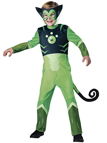 InCharacter Costumes Spider Monkey-Green Costume, One Color, 4 ()