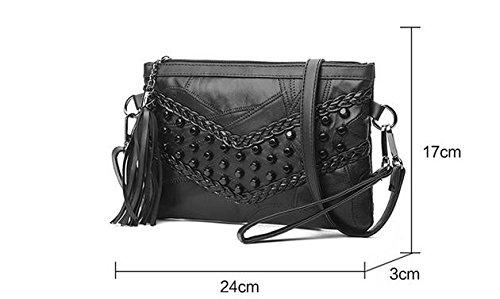 À Sac Ladies a C Meaeo Mode Mesdames Main Loisirs Sac À Couture Franges Bag Bandoulière Loisirs Sac xqSFwgSY7