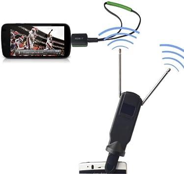 Micro USB 2.0 Mobile Watch ISDB-T Pad TV Tuner Stick con ...
