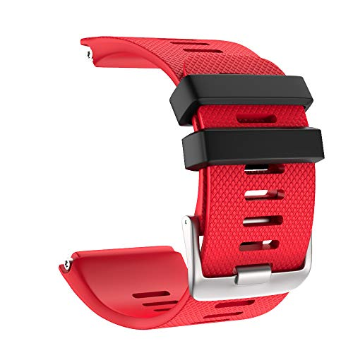 (Redvive Top Fashion Sport Silicone Replacement Strap Watch Band for Garmin vivoactive HR)