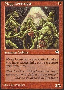 Magic: the Gathering - Mogg Conscripts - Tempest