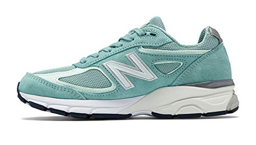 New Balance Men's 990v4, Green/White 7 D US by New Balance (Image #1)