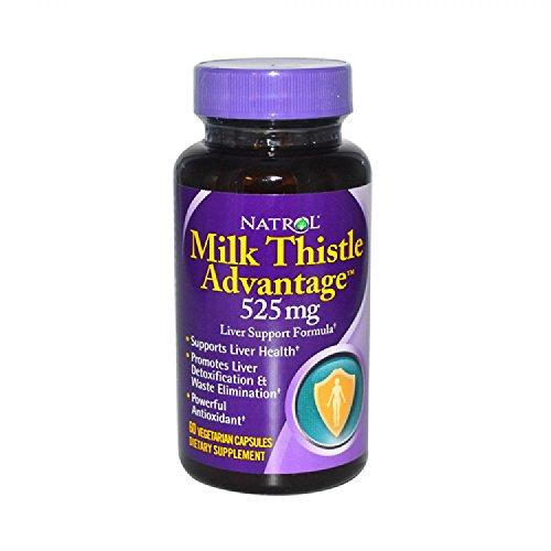 Natrol Milk Thistle Advntg 525mg