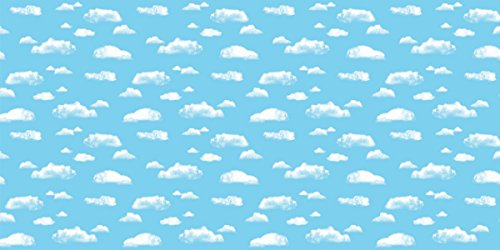 Fadeless Bulletin Board Art Paper, Clouds, 48'' x 50', 1 Roll by Pacon (Image #2)