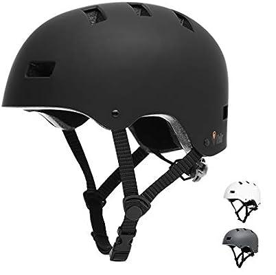 Vihir - Casco de bicicleta para adultos, para patinaje electrónico ...