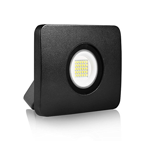 20W LED Flood Light, Outdoor Security Floodlight, 2000 Lumen