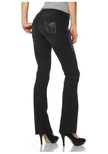 Pantalones vaqueros con Adornos Mujer Talla corta de Arizona ...