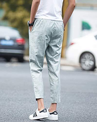 Hommes Pour Couleur Avec Printemps Kaki Automne Vêtements Pantalon Confortables Cargo Unie Survêtement Décontracté Poches Tailles wTxa5EUq
