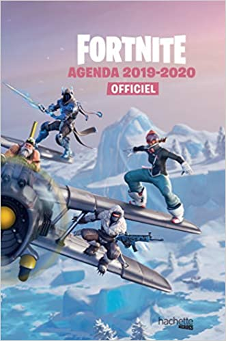 Amazon Fr Agenda Fortnite 2019 2020 Epic Games Livres
