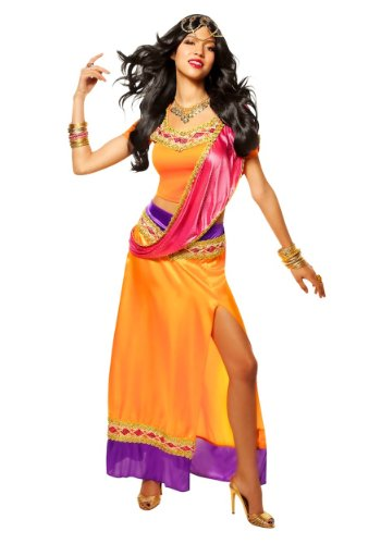 [Exotic Goddess Costume - Small - Dress Size 4-6] (Four Group Costumes)