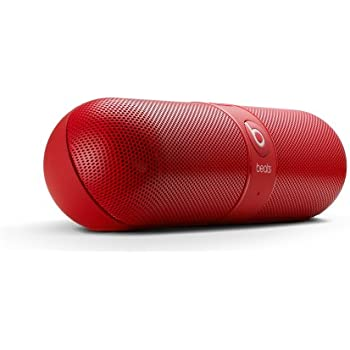 Beats Pill 2.0 Portable Bluetooth Speaker (Red)