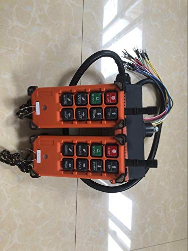 (F21-E1B Industrial remote controller Hoist Crane Control Lift Crane 2 transmitter + 1 receiver - (Color: AC220V))