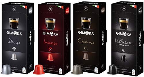 Kit 120 Cápsulas de café para máquinas Nespresso