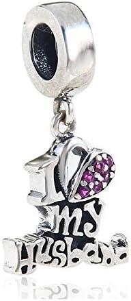 XY Bijoux Argent 925//1000 Femme Bracelet Charms et Perles