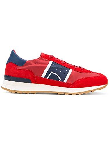 Philippe Model Sneakers Uomo PSLUB001 Tessuto Rosso