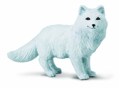 Safari Ltd. North American Wildlife – Arctic Fox – Realistic Hand Painted Toy Figurine Model – Quality Construction from Phthalate, Lead and BPA Free Materials – For Ages 3 and Up