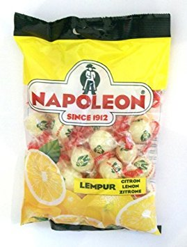 - Napoleon Lemon Citrone Zitrone Balls / Drops 7.94 ounce bag