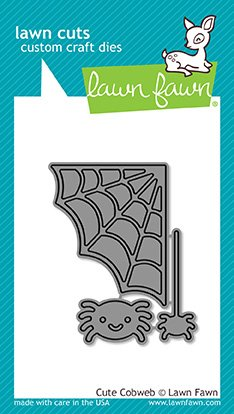 LAWN FAWN Cuts Custom Craft Dies: Cute Cobweb