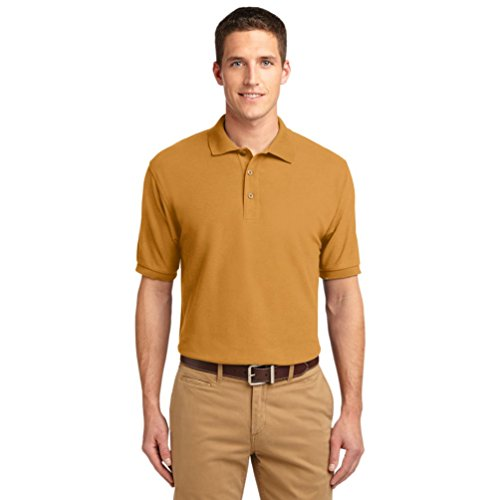Port Authority Herren Poloshirt gold gold XXXXXL